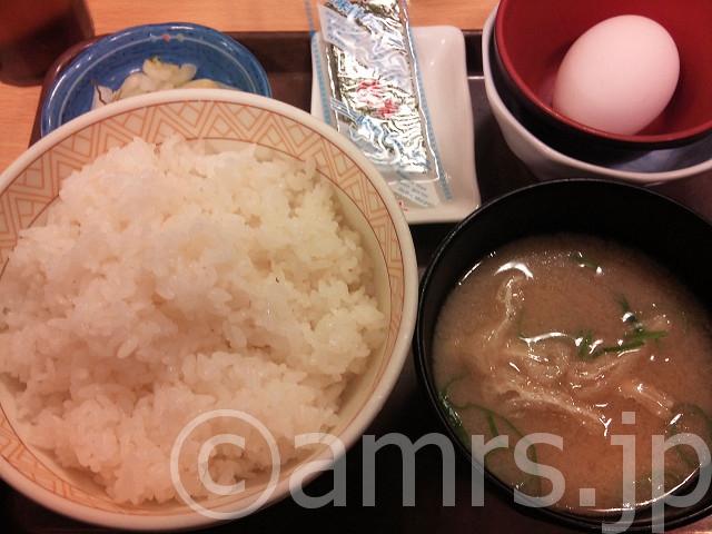 朝食セット@すき家