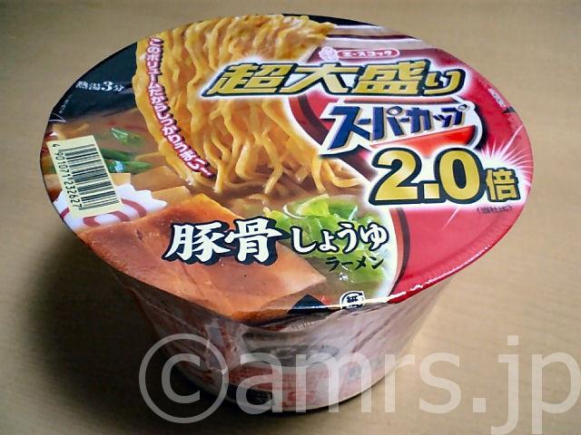 超大盛りスーパーカップ2.0倍豚骨しょうゆラーメン by エースコック