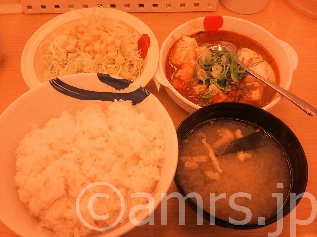 マーボ豆腐定食@松屋