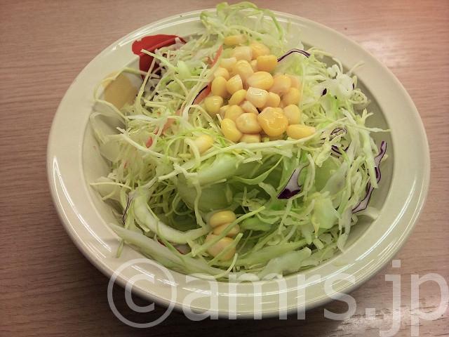 牛カルビ丼(並)、豚汁変更、生野菜@松屋