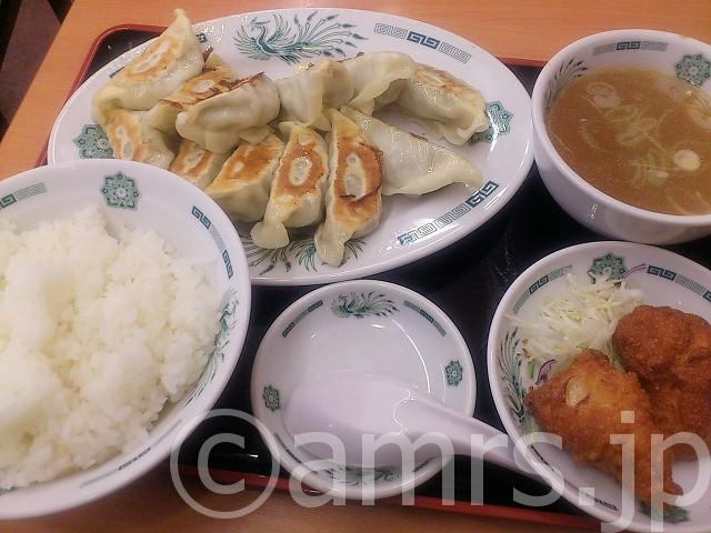 W餃子定食@日高屋