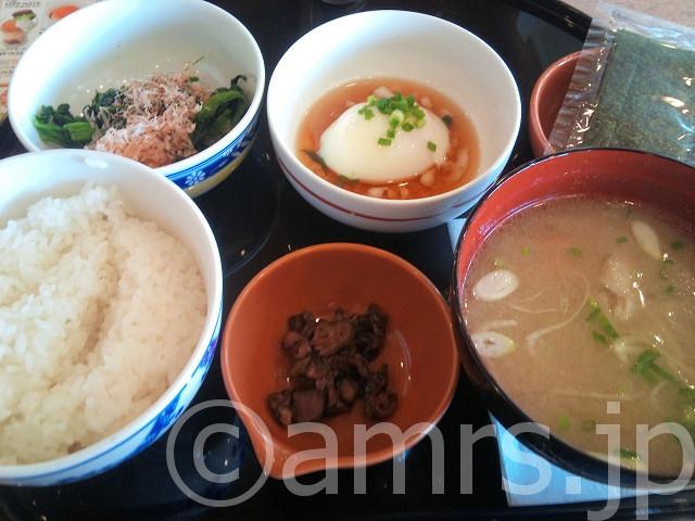 豚汁朝定食@ガスト