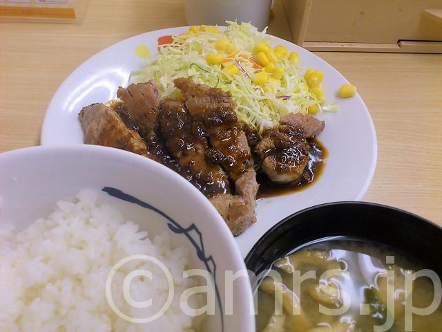 トンテキ定食@松屋