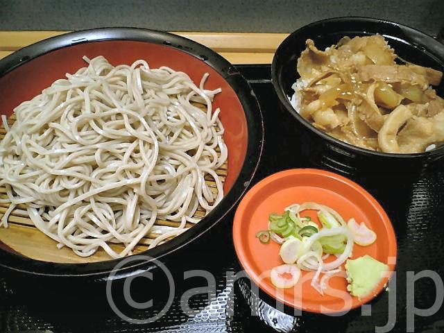 豚生姜焼丼セット by 富士そば