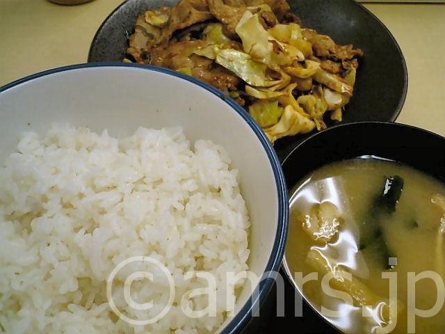 肉野菜定食 by 松屋
