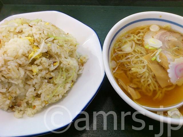 Bランチ(チャーハン&半らー麺)@東秀