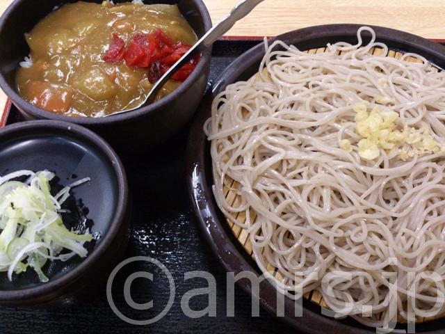 朝定食A(カレー)@ゆで太郎