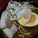 7種の魚介とんこつ醤油らーめん、めかじきステーキ風、北海道みるくのプリンタルト@くら寿司