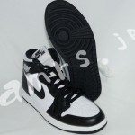 NIKE AIR JORDAN 1 RETRO HIGH OG BLACK/WHITE