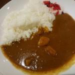 特製カレー、たこ焼き(6個)@銀だこ