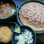 朝ごはん カレー丼、コロッケ@ゆで太郎