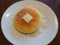 おかわり自由パンケーキセット@グラッチェガーデンズ はちみつ&バター