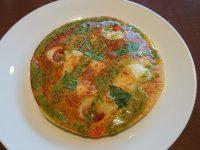 おかわり自由パンケーキセット@グラッチェガーデンズ トマト&バジル