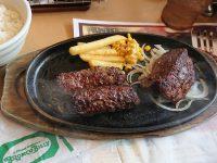 ブロンコビリー極み炭焼きブロンコハンバーグ&炭焼きやわらかランチステーキ