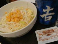 吉野家 生野菜サラダ