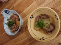 鉄板食道 飯蔵(ハンゾウ)肉じゃが 牛すじ煮