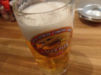 鉄板食道 飯蔵(ハンゾウ)ビール