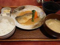 ごはんや 農家の台所 立川高島屋店 骨なし鯖の味噌煮膳