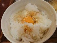 ごはんや 農家の台所 立川高島屋店 TKG 卵かけご飯