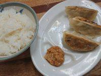 九州ラーメン桜島 東町店 ハーフ 3個 餃子 ライス