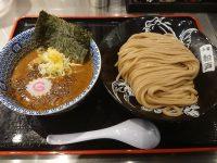 ラーメン激戦区 東京 丸の内 松戸富田麺絆 濃厚つけ麺 並 200g