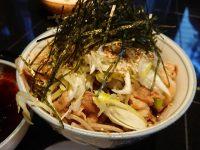 港屋2 Minatoya2 冷たい肉そば アップ