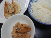 九州ラーメン桜島 東町店 ハーフ 餃子 ライス 鶏 チャーシュー 肉