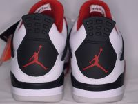 AIR JORDAN 4 RETRO FIRERED かかと heel