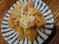大衆酒場 晩杯屋 ファンデス上野店 東京都 台東区 鶏皮ポン酢