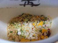 名店が認めた本格style 篝 鶏白湯Soba 日清食品 カップ中 特製鶏油
