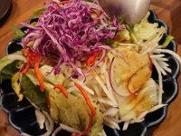 全品食べ飲み放題 2200屋 ににまる 新橋店 東京都 港区 シャキシャキ大根サラダ