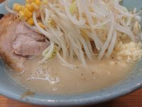 ラーメン二郎 八王子野猿街道店2@東京都八王子市 なみのりつけめん-2011ver- スープ