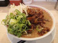 肉汁麺ススム 秋葉原本店@東京都千代田区 肉汁麺 レベル4 レベル3 +1