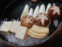肉の山本@東京都八王子市 すき焼き定食 野菜