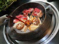 肉の山本@東京都八王子市 すき焼き定食 割り下