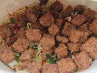 カップヌードル ビッグ 謎肉祭@日清 カップ横 謎肉祭 年に1度のCAP NOODLE 謎肉祭 フタオープン