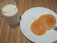 カフェ ランデヴー(Cafe Rendezvous)@イビス東京新宿(東京都新宿区) 豆乳 パンケーキ