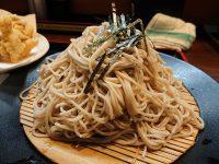 ざるそば屋@東京都港区 蕎麦 盛り 500g