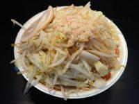 暴豚製麺所@大つけ麺博 美味しいラーメン集まりすぎ祭(東京都新宿区) しょう油ラーメン 野菜増し SNS映え画像