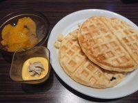 アソート イオンモール日の出店@日の出イオンモール(東京都西多摩郡) デザート ワッフル かぼちゃプリン かんてんとみかん