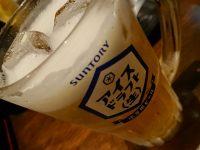 天ぷら さいとう 末広町店@東京都千代田区 毎月10日は天ぷらの日 氷専用ビール アイス・ドラフト(生)