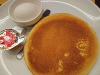 パンケーキ&ゆで卵セット@ガスト