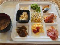 BONSALUTE CAFE(ボンサルーテ・カフェ)@秋葉原ワシントンホテル(東京都千代田区) 食べた物 スクランブルエッグ べーコン