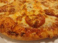 ベイクド ポテト&ソーセージ Mサイズ、ドミノ・デラックス Mサイズ、アメリカン Mサイズ@ドミノ・ピザ チーズダブルトッピング