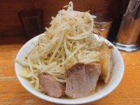 ラーメン二郎 立川店@東京都立川市 麺少なめ 野菜コール