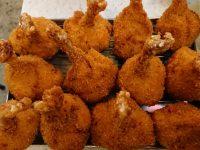 串カツ田中 田町店@東京都港区 鶏手羽チューリップから揚げを8本 鶏手羽串12本