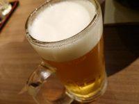 しちりん炭火焼 鉄人 蒲田西口店@東京都大田区 ビール