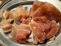 しちりん炭火焼 鉄人 蒲田西口店@東京都大田区 鶏肉 豚肉 食べ放題 肉 1皿目