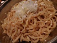 コンロ家 神田店@東京都千代田区 霜降り和牛鍋 〆の麺 煮込みラーメン用
