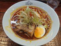 まぜそばコンドル@たま館(東京都立川市) 肉ネギカレー麺